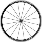 9. Shimano Voorwiel Dura Ace R9100 16G Carbon 35mm Draad