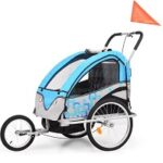 10. vidaXL Kinderfietskar en wandelwagen